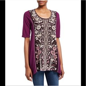 Johnny Was Rosa Tunic/ Top